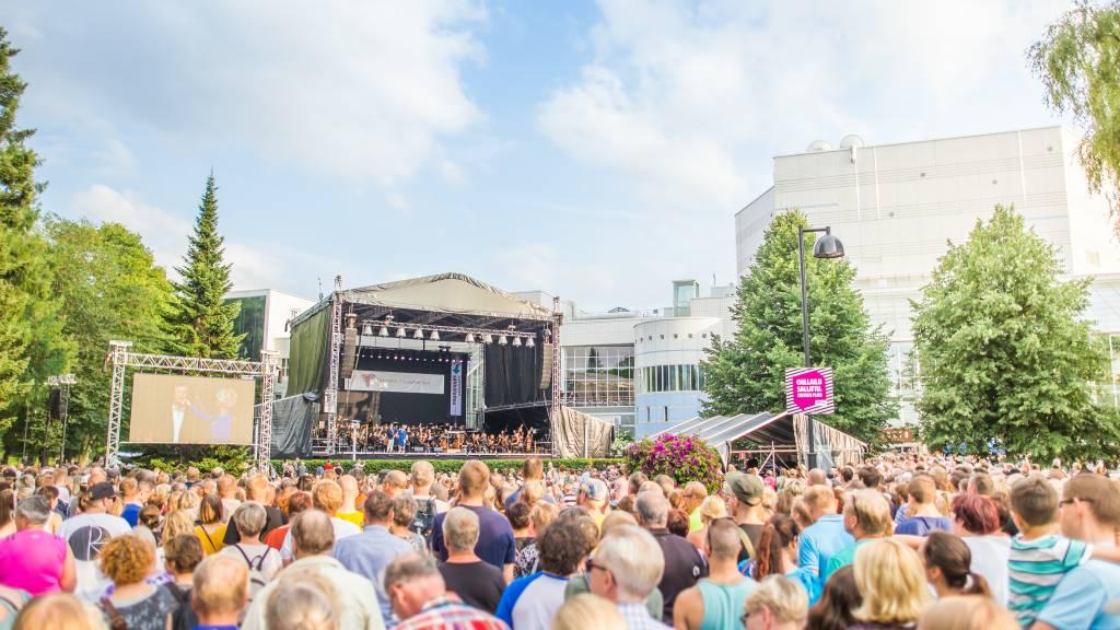 Events Tampere referenssit, Puistokonsertti