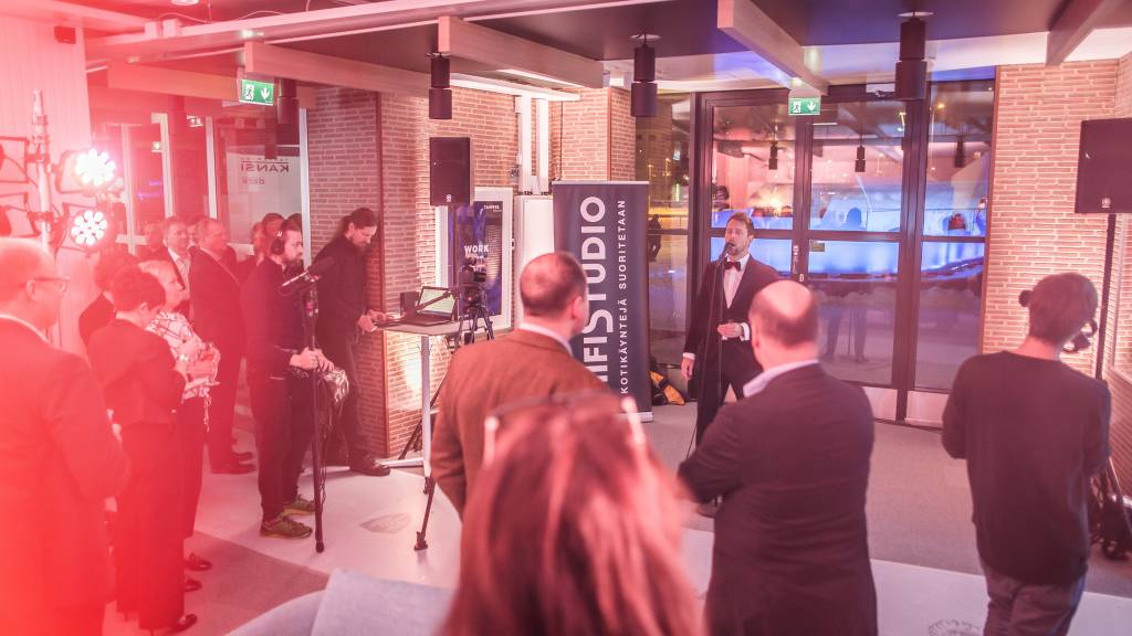Events Tampere referenssit, Visit Centerin avajaiset